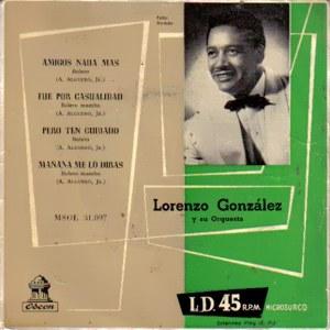 González, Lorenzo - Odeon (EMI)MSOE 31.097