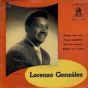 Lorenzo González - Odeon (EMI)MSOE 31.097