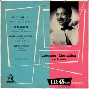 González, Lorenzo - Odeon (EMI)MSOE 31.161