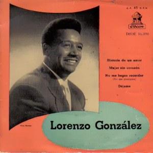 González, Lorenzo - Odeon (EMI)DSOE 16.090