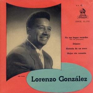 Lorenzo González - Odeon (EMI)DSOE 16.090
