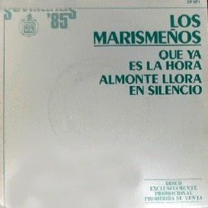 Marismeños, Los - HispavoxCP-071
