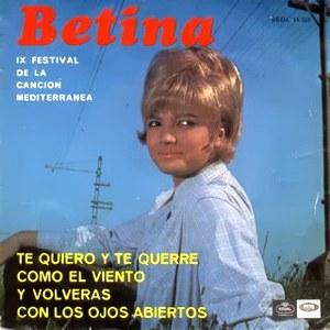 Betina - Regal (EMI)SEDL 19.555