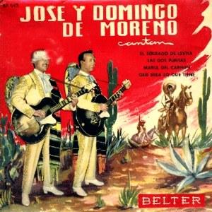Moreno, José Y Domingo De - Belter50.043