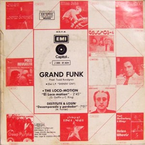 Grand Funk Railroad - EMI J 006-81.624