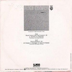 Alice Cooper - Warner Bross15004