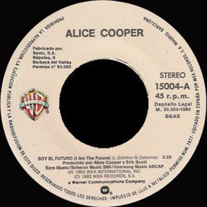 Alice Cooper - Warner Bross 15004