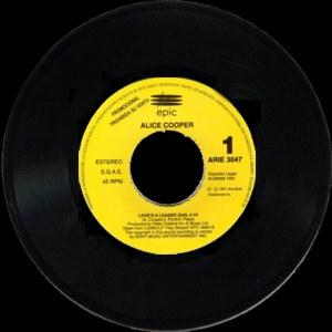 Alice Cooper - Epic (CBS)ARIE-3047