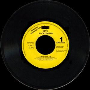 Alice Cooper - Epic (CBS)ARIE-3025