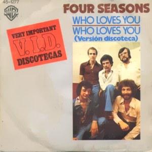 Four Seasons, The - Hispavox45-1277