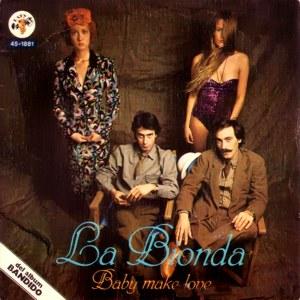 Bionda, La - Hispavox45-1881