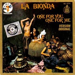 Bionda, La - Hispavox45-1771