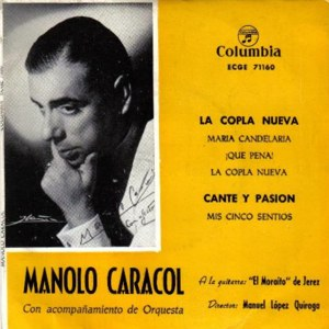 Manolo Caracol - ColumbiaECGE 71160