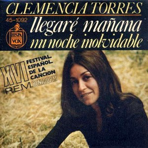 Torres, Clemencia - Hispavox45-1092