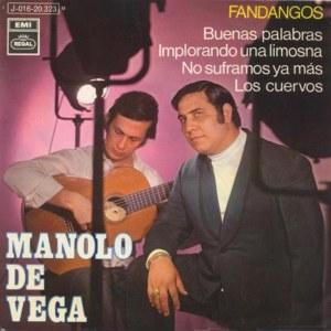 Vega, Manolo De - Regal (EMI)J 016-20.323