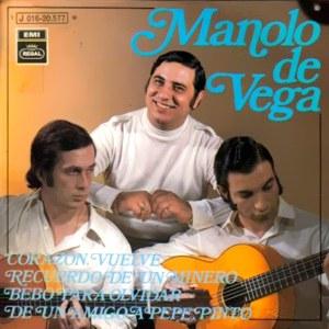 Vega, Manolo De - Regal (EMI)J 016-20.577