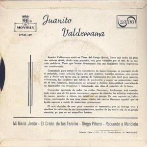 Juanito Valderrama - Montilla (Zafiro)EPFM-169