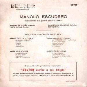 Manolo Escudero - Belter50.934