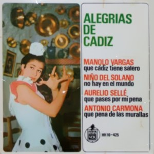 Varios Copla Y Flamenco - HispavoxHH 16-425