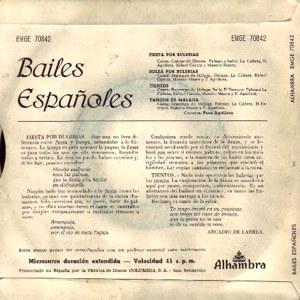 Varios Copla Y Flamenco - Alhambra (Columbia)EMGE 70842