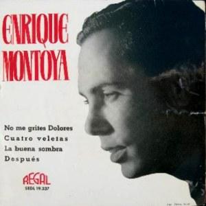 Montoya, Enrique - Regal (EMI)SEDL 19.337