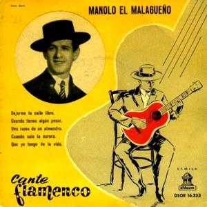 Malagueño, Manolo El - Odeon (EMI)DSOE 16.253
