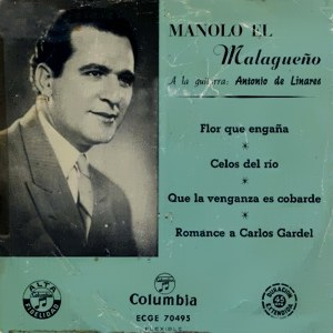 Malagueño, Manolo El - ColumbiaECGE 70495