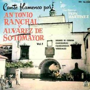 Ranchal Y �lvarez De Sotomayor, Antonio - HispavoxHH 16-224