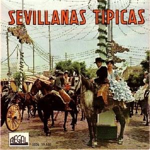 Sevillanos, Los - Regal (EMI)SEDL 19.153