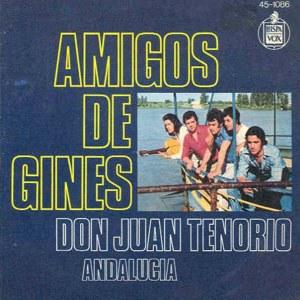 Amigos De Ginés - Hispavox45-1086