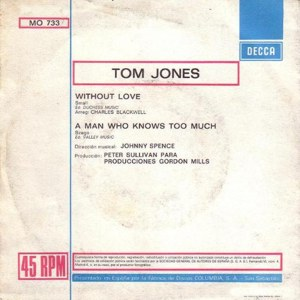 Tom Jones - Columbia MO  733
