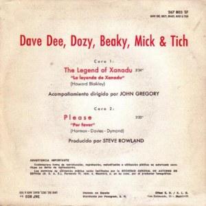 Dave Dee, Dozy, Beaky, Mick And Tich - Fontana267 803 TF