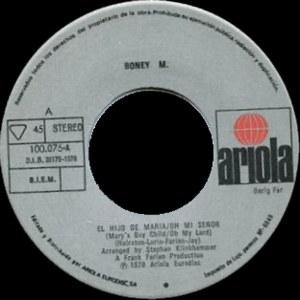 Boney M. - Ariola100.075-A