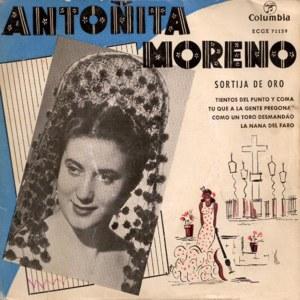 Moreno, Antoñita - ColumbiaECGE 71139