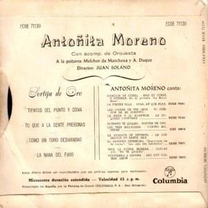 Antoñita Moreno - ColumbiaECGE 71139