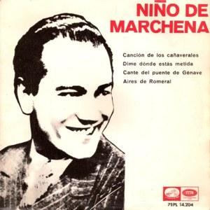Marchena, Pepe - La Voz De Su Amo (EMI)7EPL 14.204