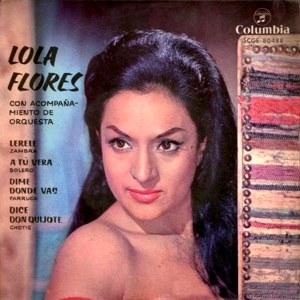 Flores, Lola - ColumbiaSCGE 80488