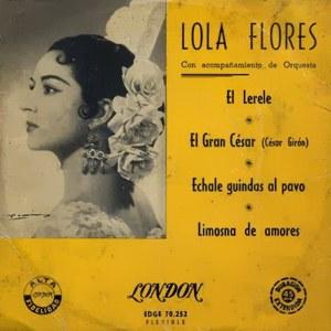 Flores, Lola - ColumbiaEDGE 70252