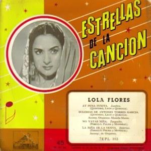 Flores, Lola - La Voz De Su Amo (EMI)7EPL 103