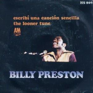 Preston, Billy - HispavoxHS 809