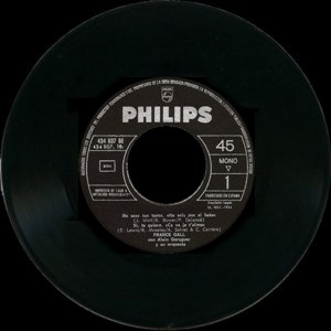France Gall - Philips434 807 BE