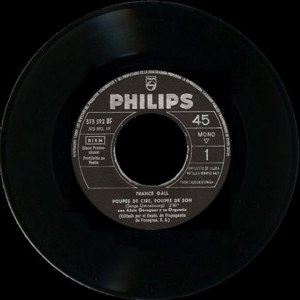 France Gall - Philips 373 592 BF