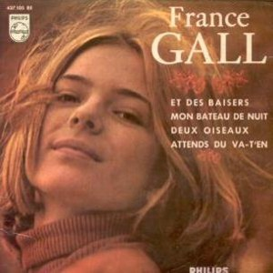 Gall, France - Philips 437 105 BE