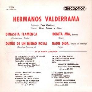 Hermanos Valderrama - Discophon27.114