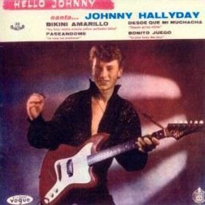 Hallyday, Johnny - HispavoxHV 27- 53