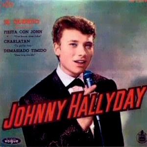 Hallyday, Johnny - HispavoxHV 27- 59