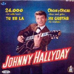 Hallyday, Johnny - HispavoxHV 27- 62