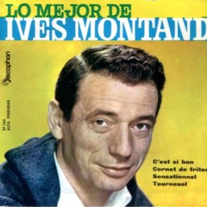 Montand, Yves - Discophon 27.163
