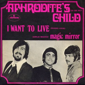 Aphrodite´s Child - Mercury 132 505 MCF