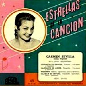 Sevilla, Carmen - Regal (EMI)SEDL 19.056